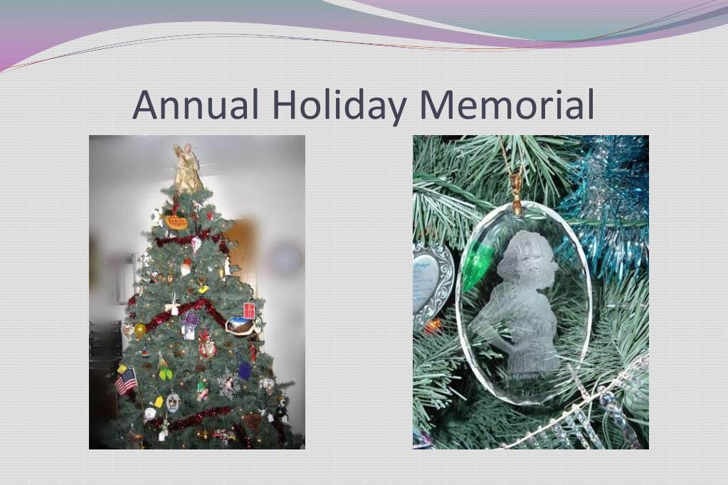 Annual Holiday Memorial