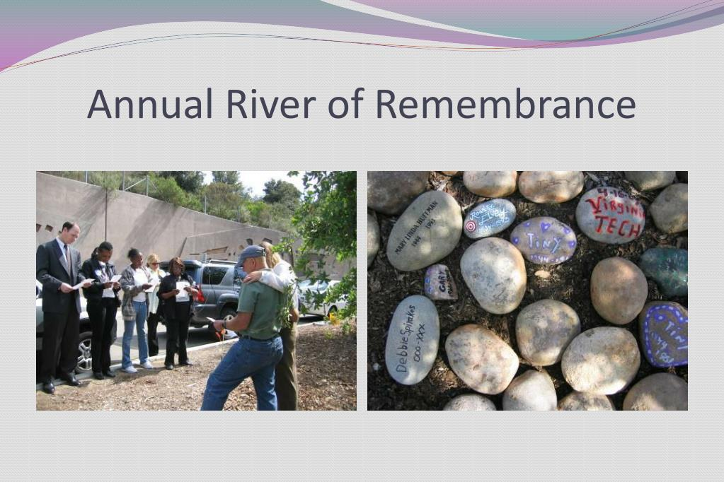 Annual River of Remembrance