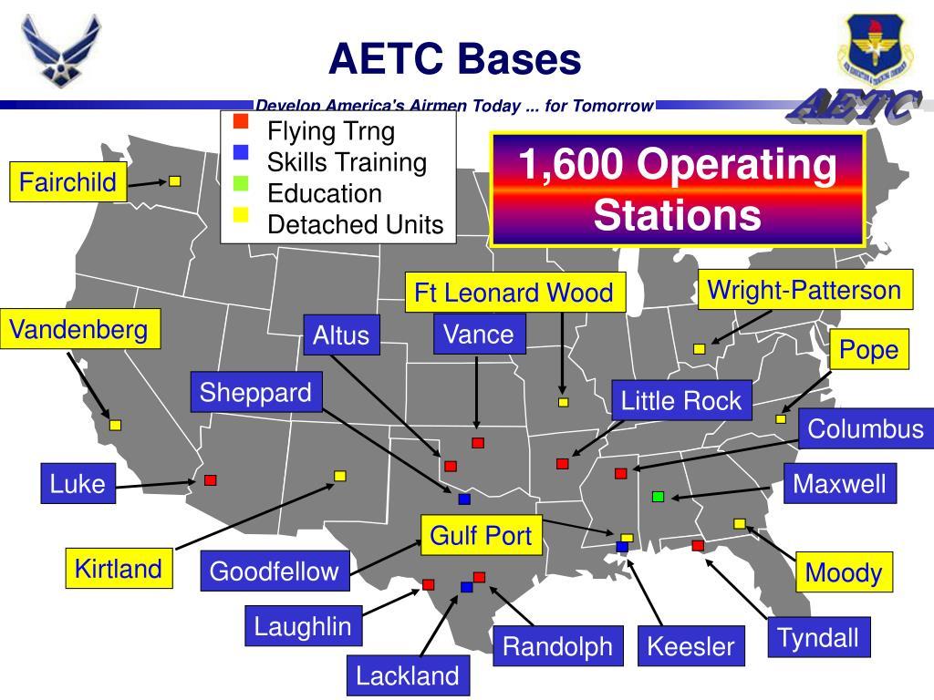AETC Bases