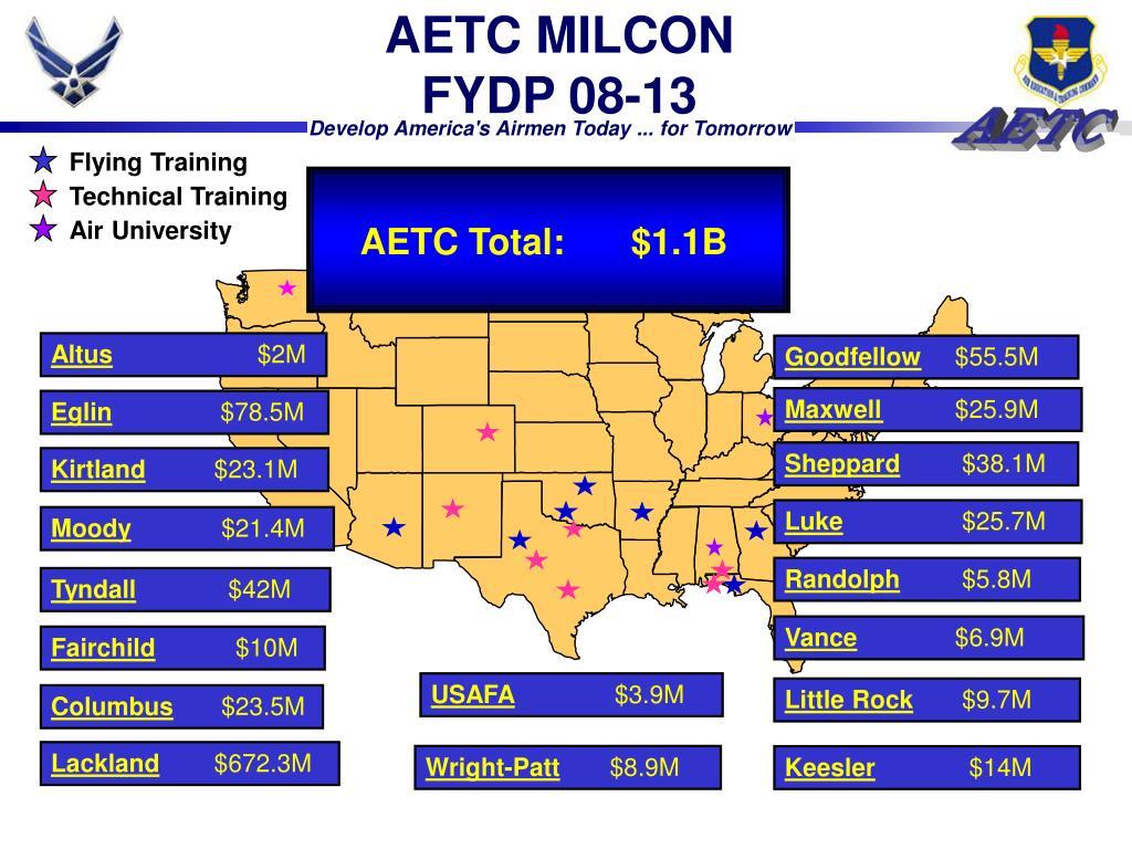 AETC MILCON