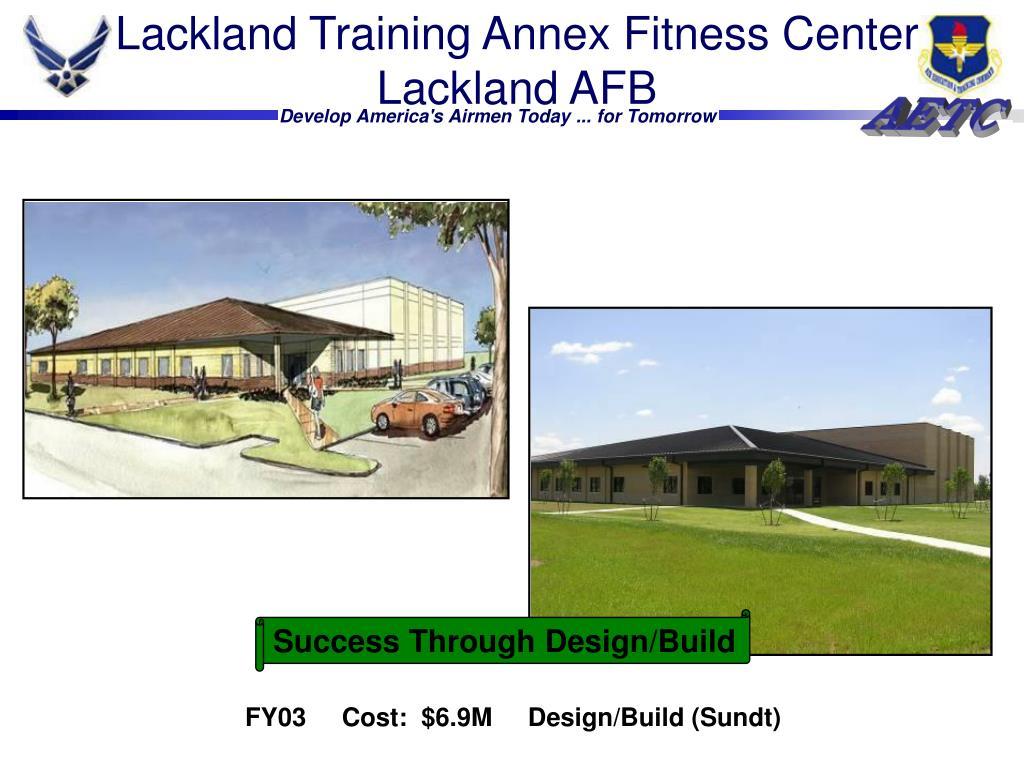 Lackland Training Annex Fitness Center