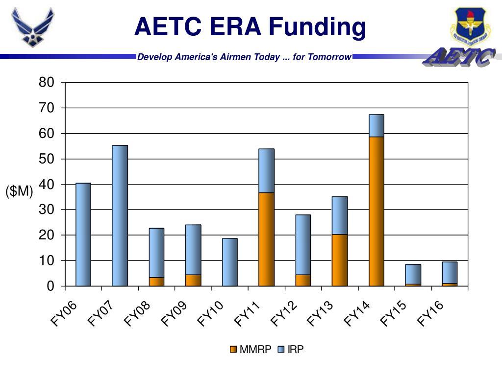 AETC ERA Funding