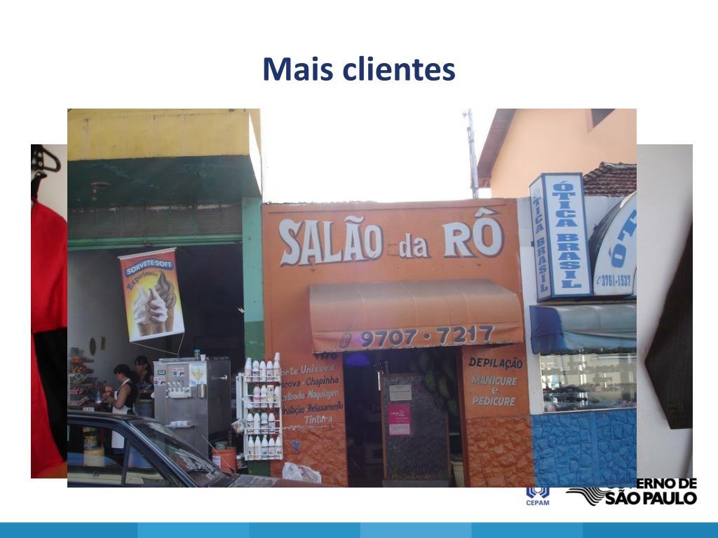 Mais clientes