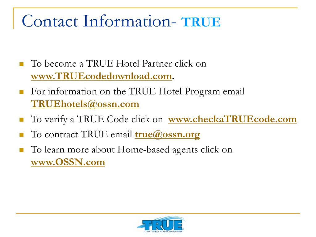 Contact Information-