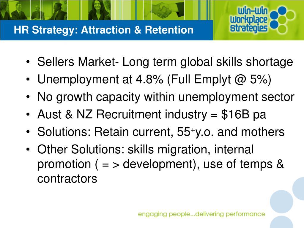 HR Strategy: Attraction & Retention
