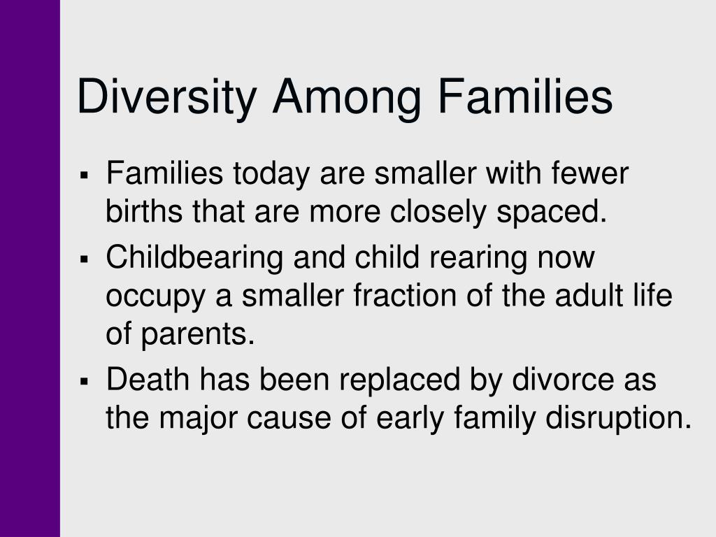 Diversity Among Families