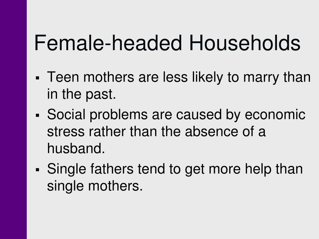 Female-headed Households