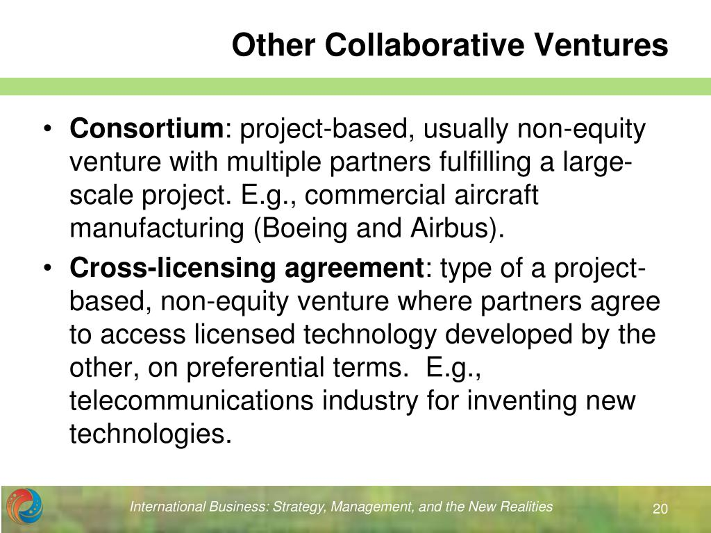 Other Collaborative Ventures