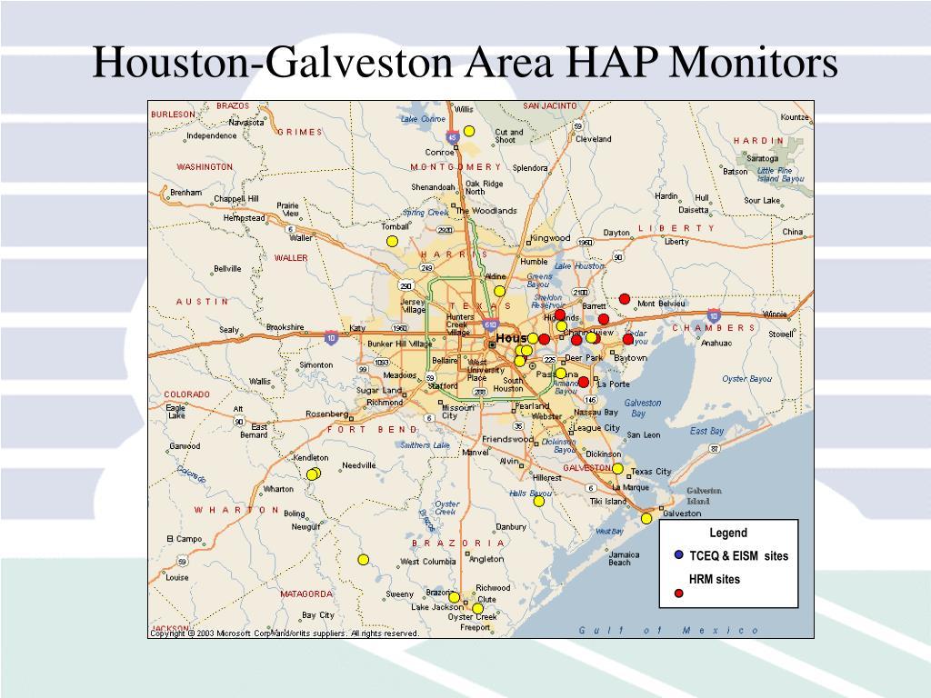 Houston-Galveston Area HAP Monitors