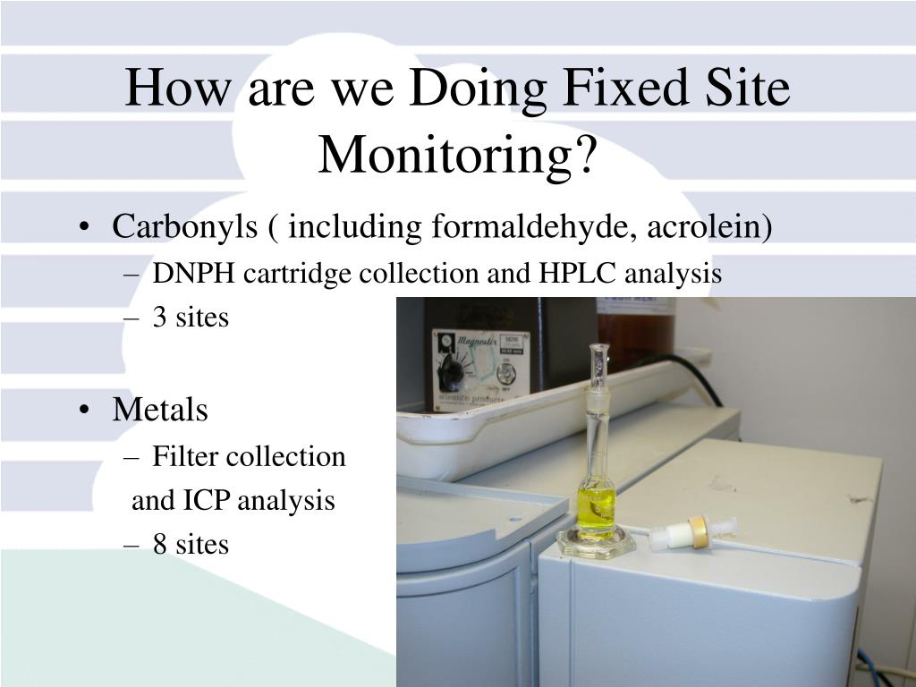 How are we Doing Fixed Site Monitoring?