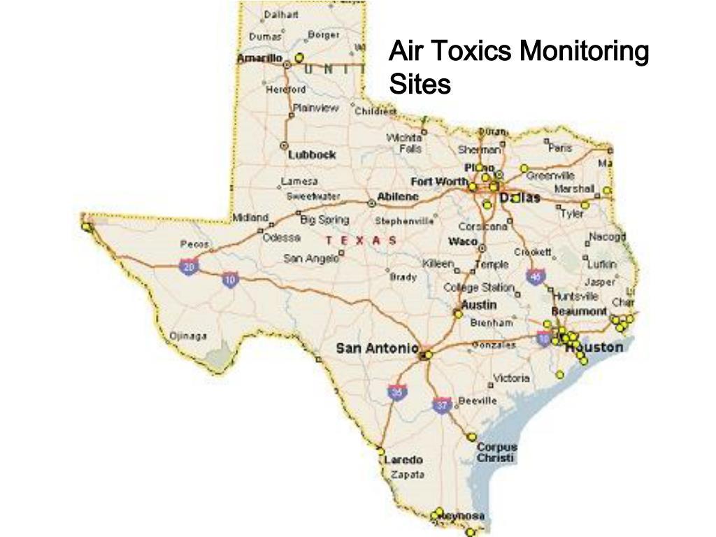 Air Toxics Monitoring Sites