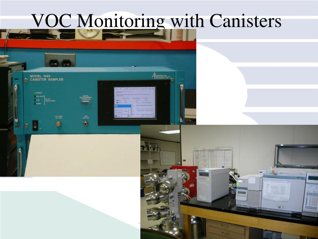 VOC Monitoring with Canisters