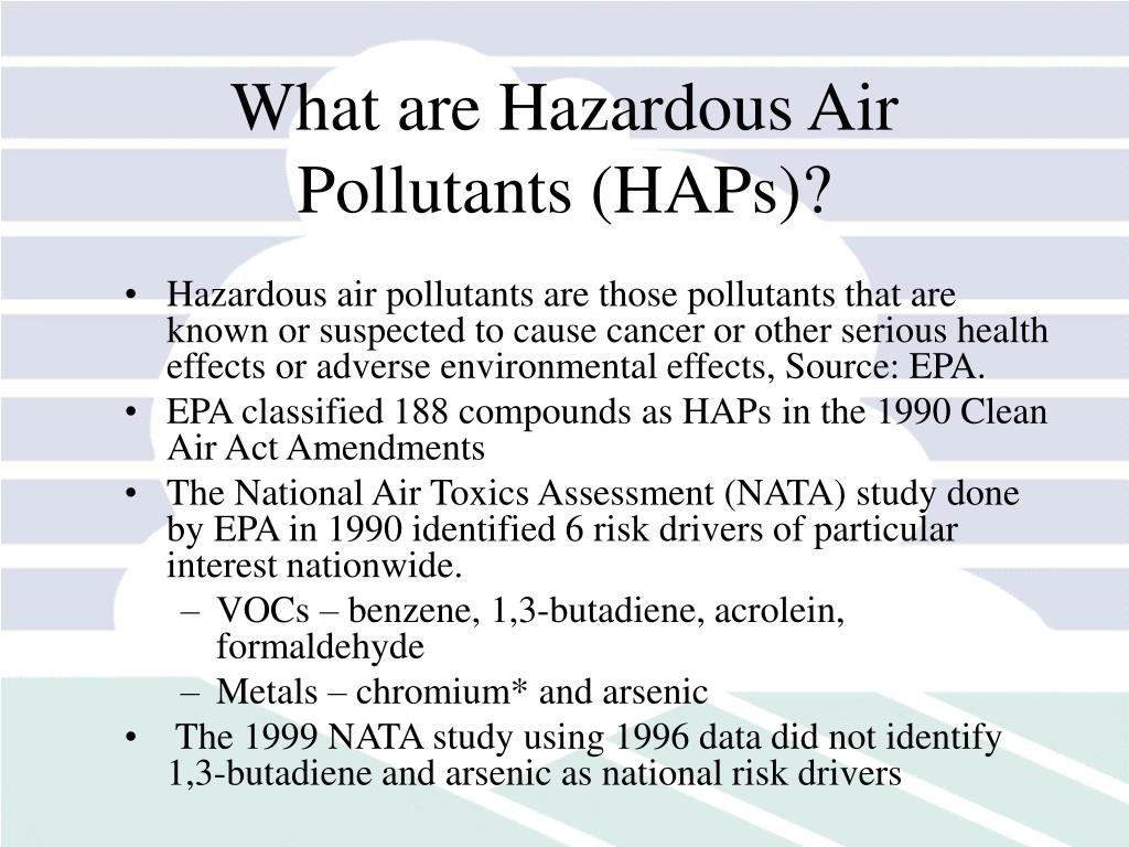 What are Hazardous Air Pollutants (HAPs)?