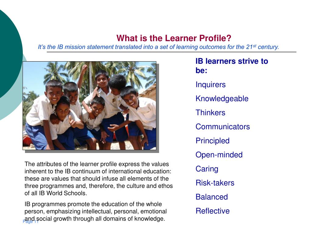 What is the Learner Profile?