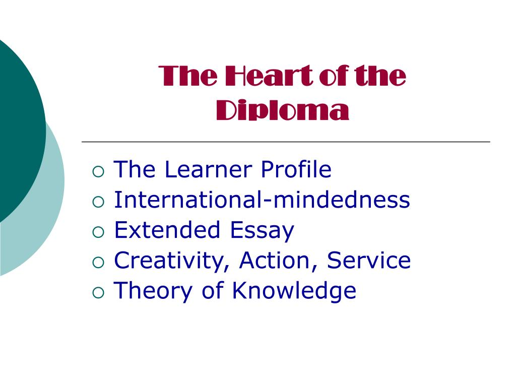 The Heart of the Diploma
