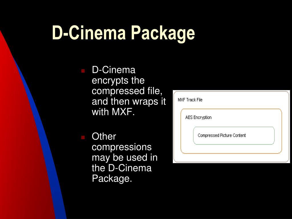 D-Cinema Package