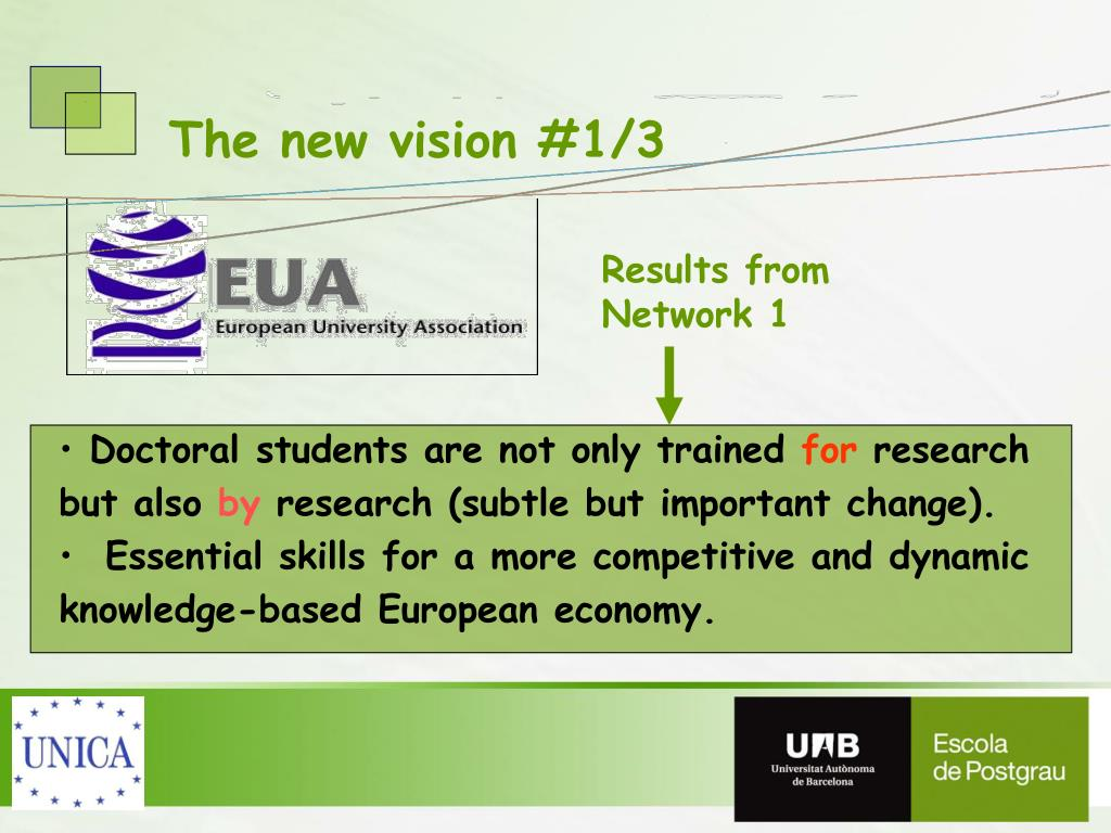 The new vision #1/3