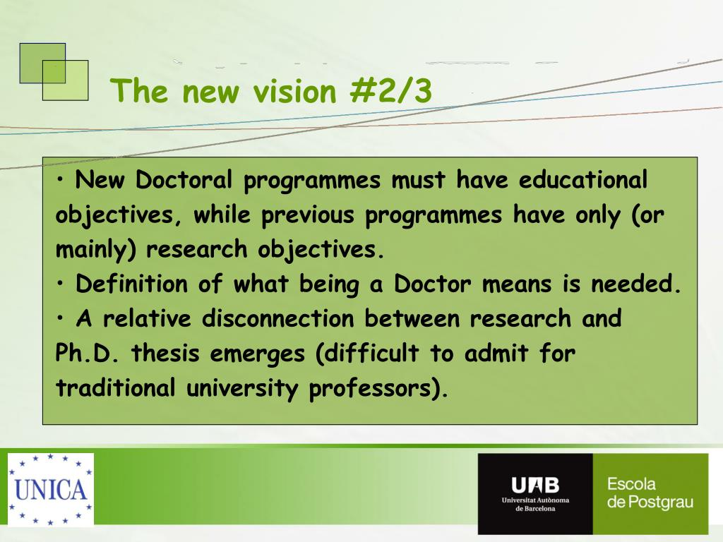 The new vision #2/3