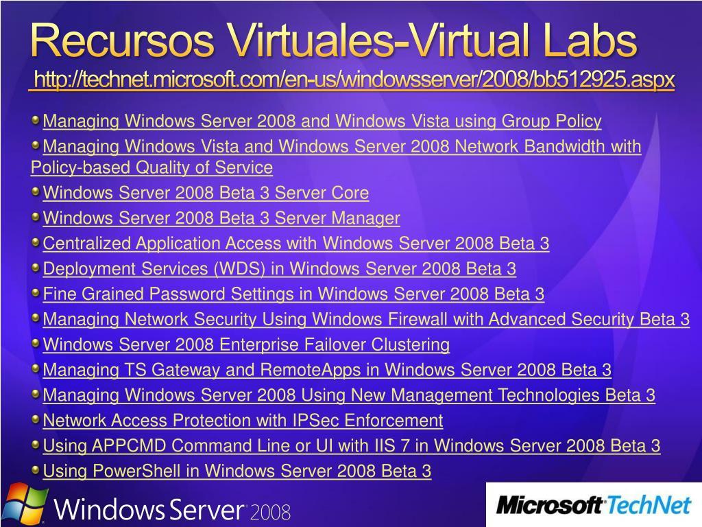 Recursos Virtuales-Virtual
