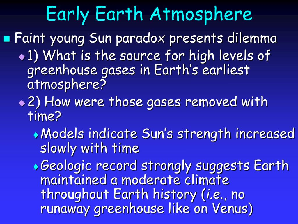 Early Earth Atmosphere
