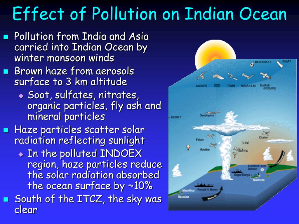 Effect of Pollution on Indian Ocean