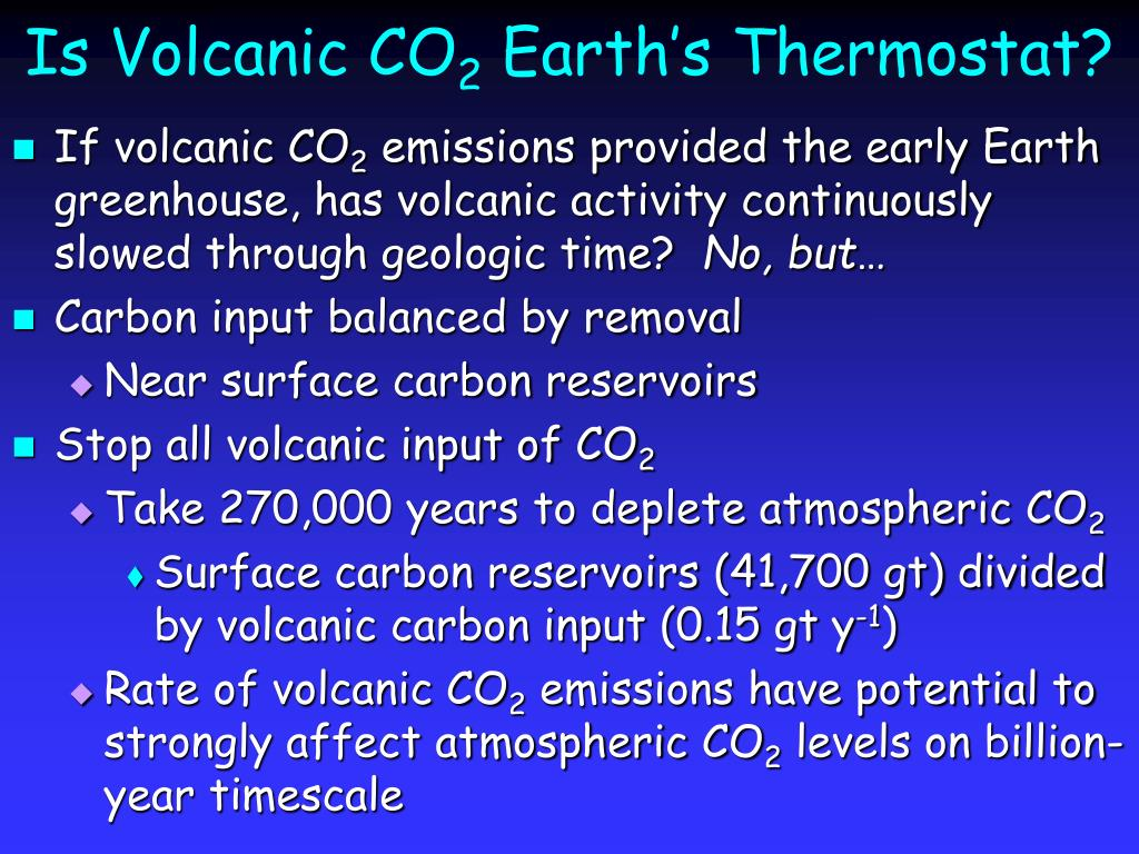 Is Volcanic CO