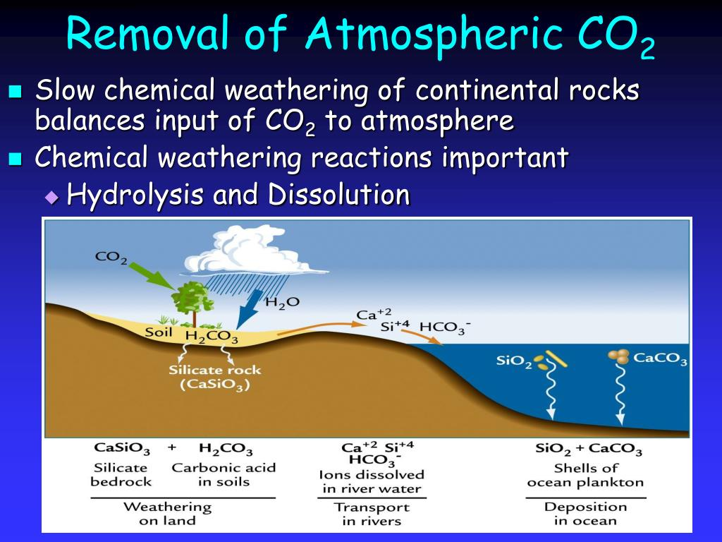 Removal of Atmospheric CO