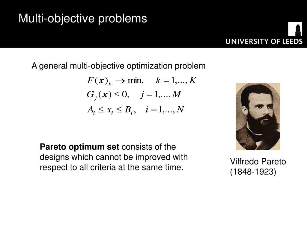 Multi-objective problems