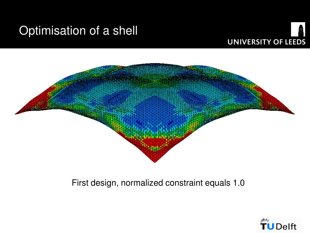 Optimisation of a shell