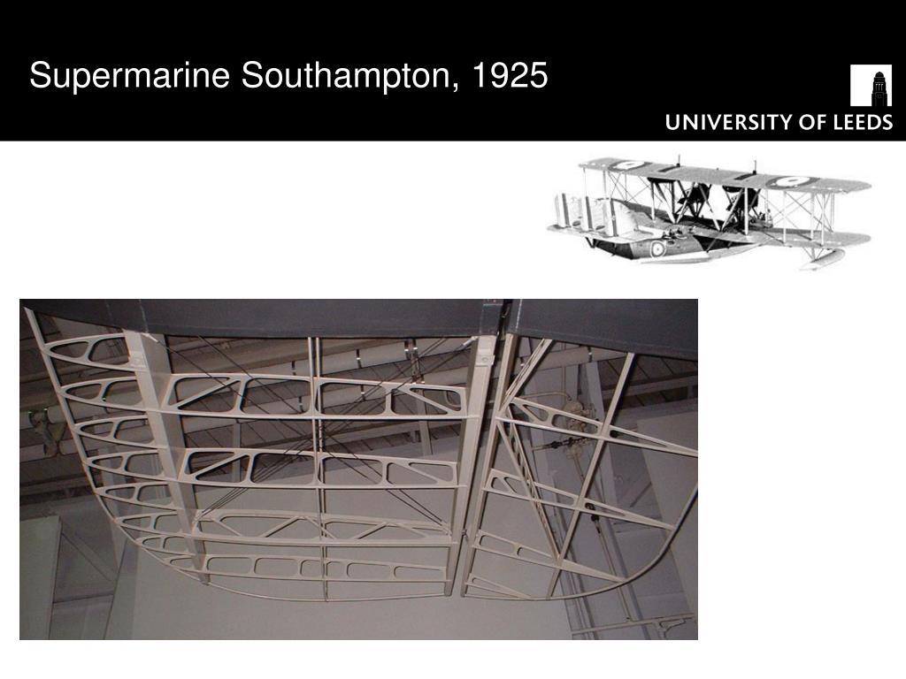 Supermarine Southampton, 1925