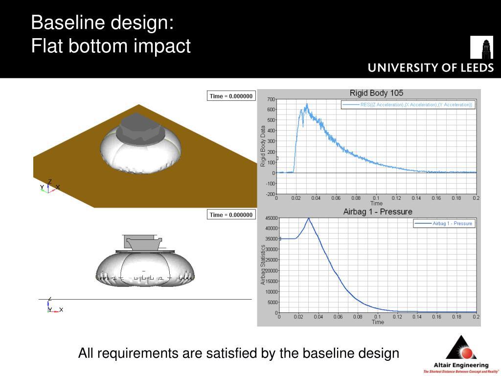 Baseline design: