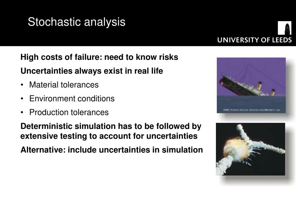 Stochastic analysis