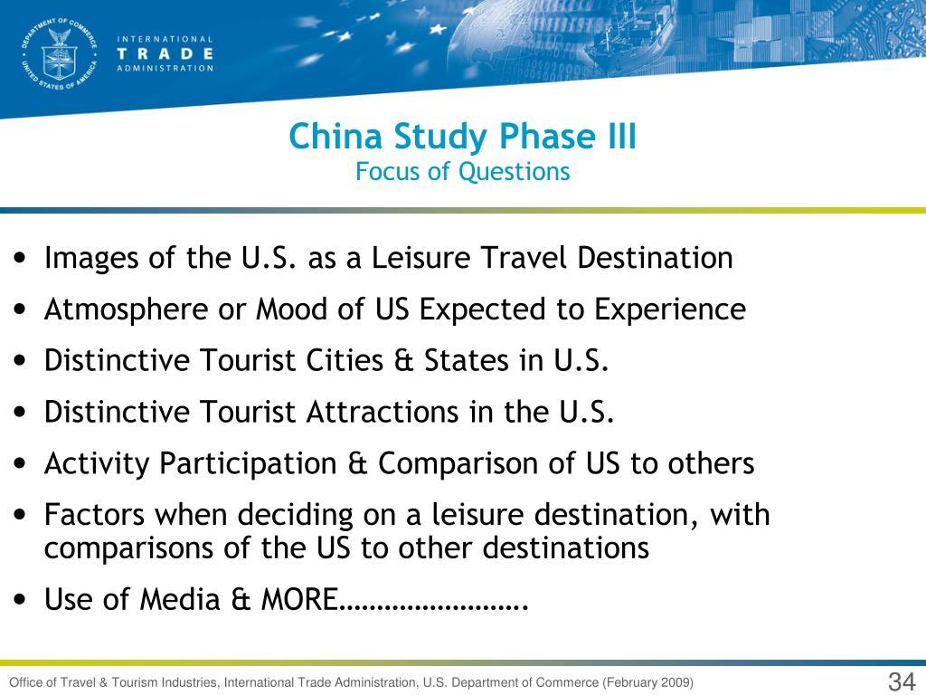China Study Phase III
