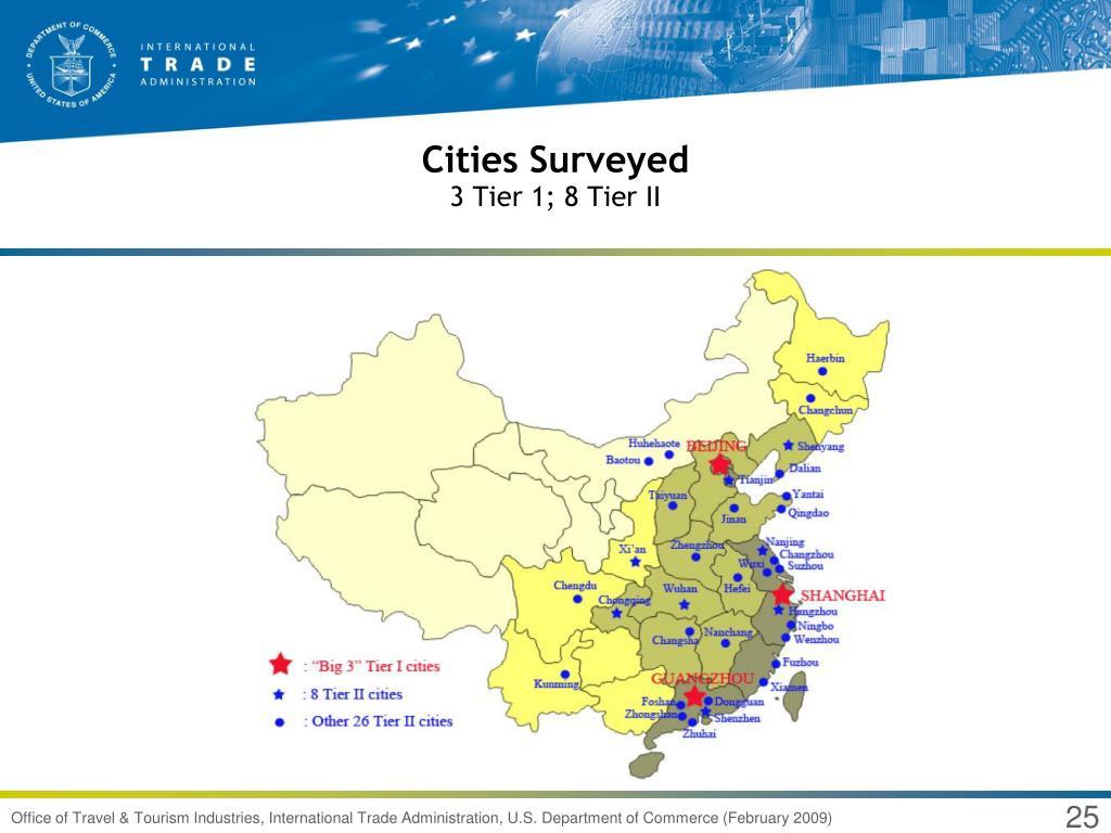 Cities Surveyed