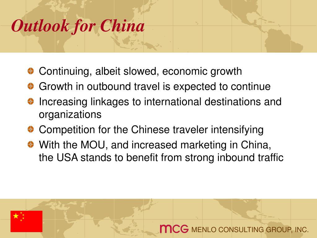 Outlook for China