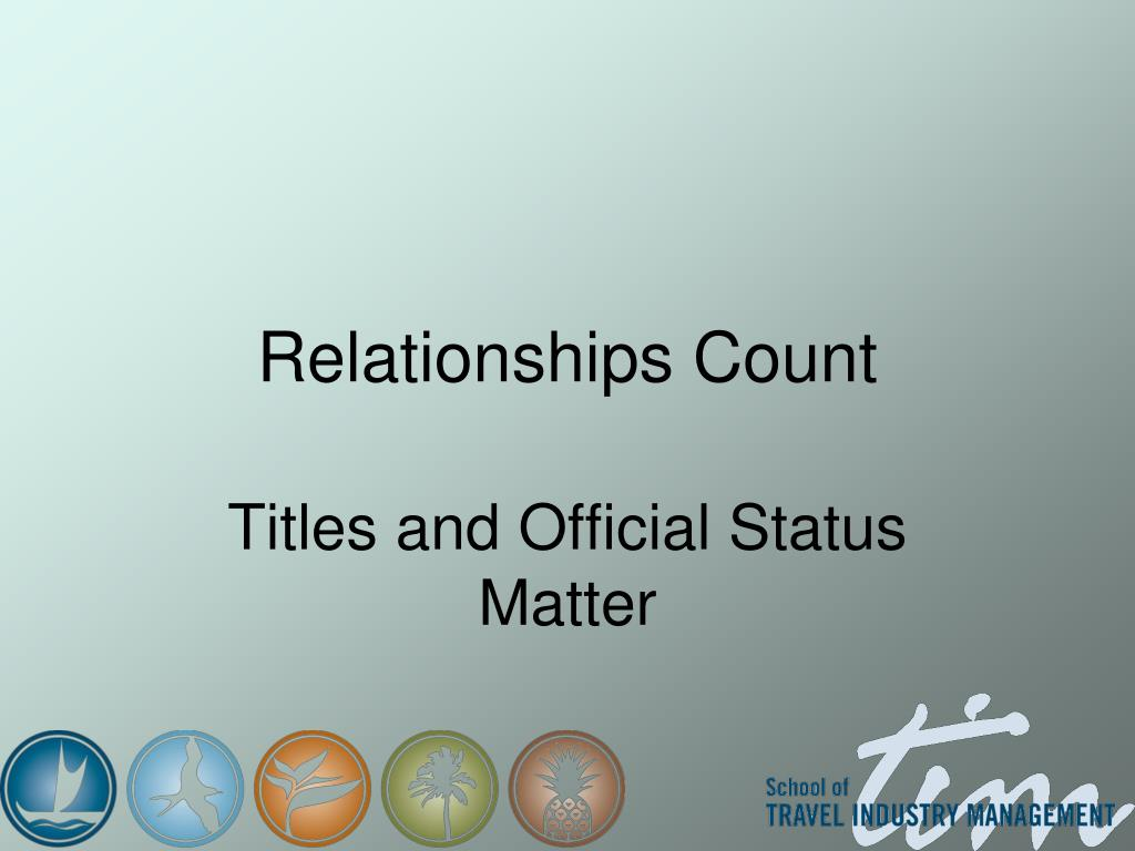 Relationships Count