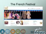 the french festival