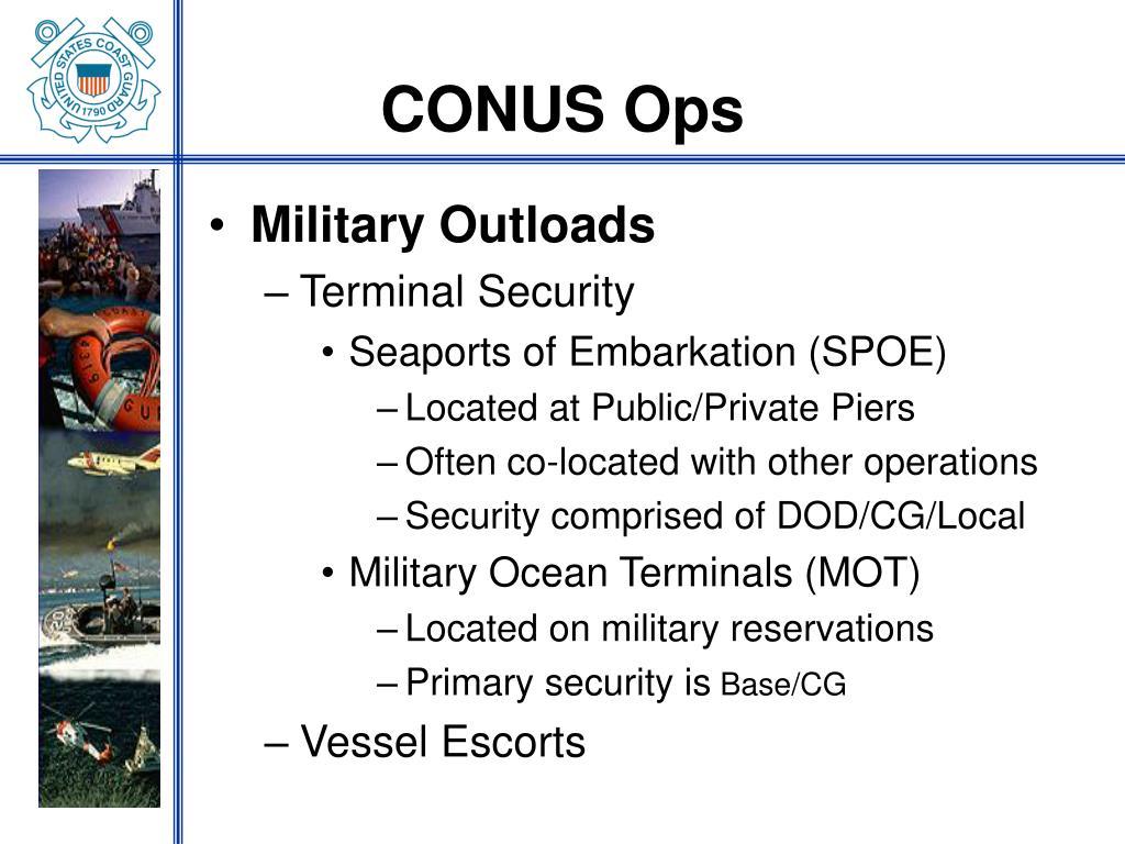CONUS Ops