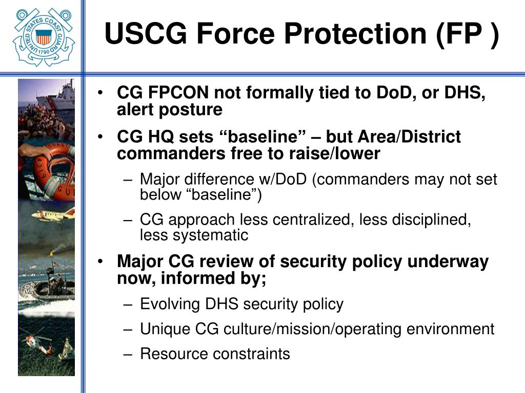 USCG Force Protection (FP )