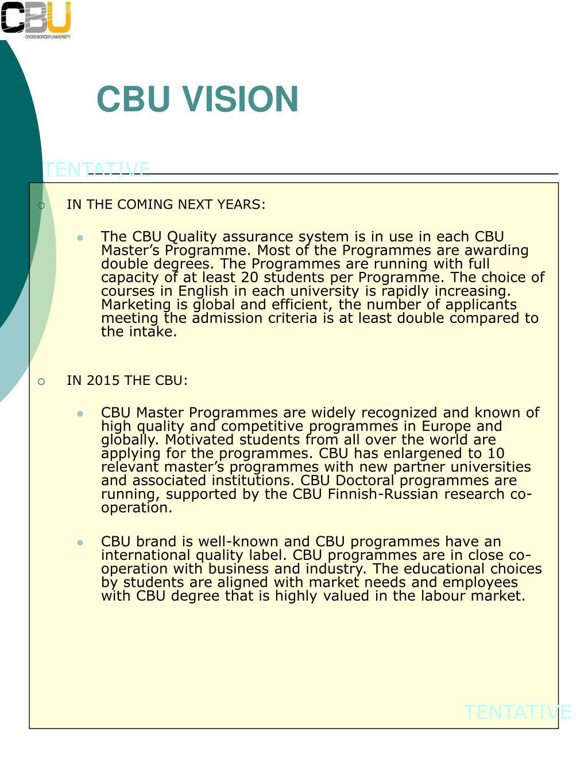CBU VISION