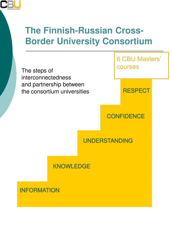 The Finnish-Russian Cross-Border University Consortium
