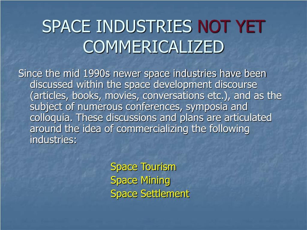 SPACE INDUSTRIES