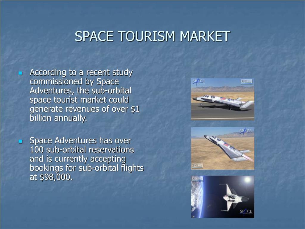 SPACE TOURISM MARKET