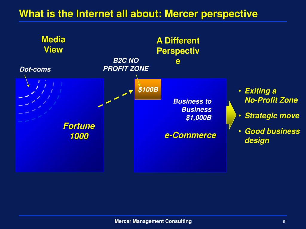What is the Internet all about: Mercer perspective