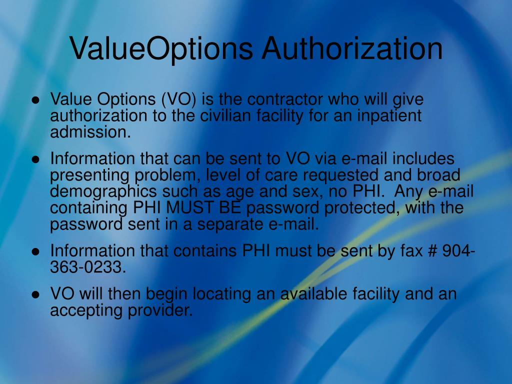 ValueOptions Authorization