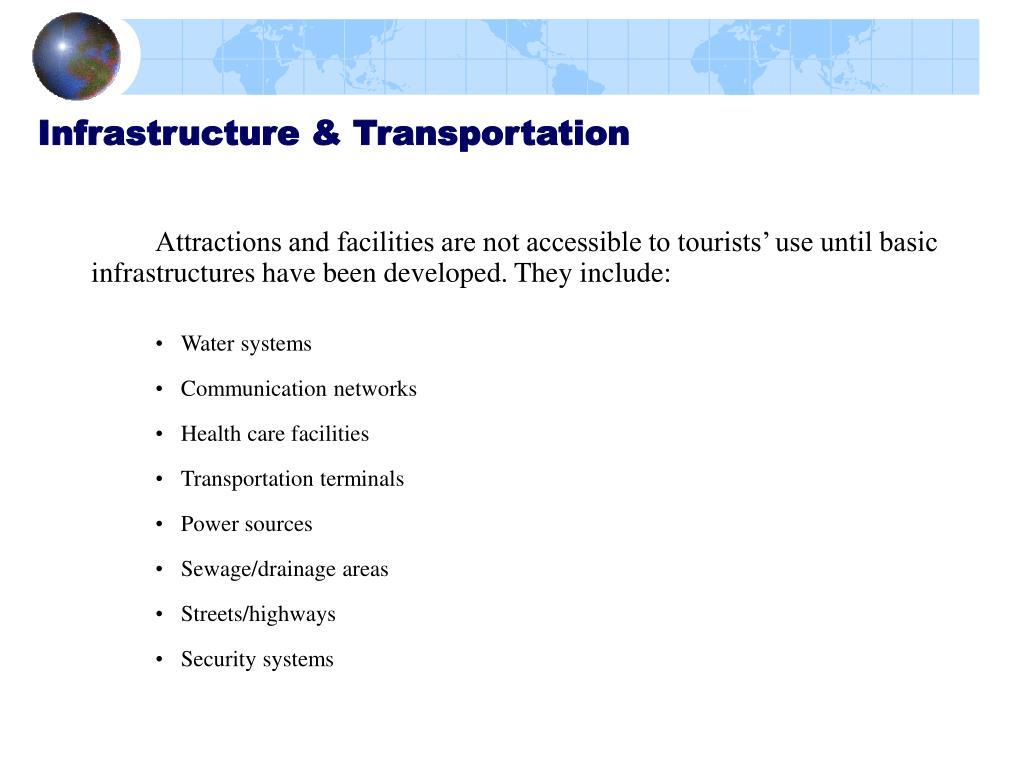 Infrastructure & Transportation