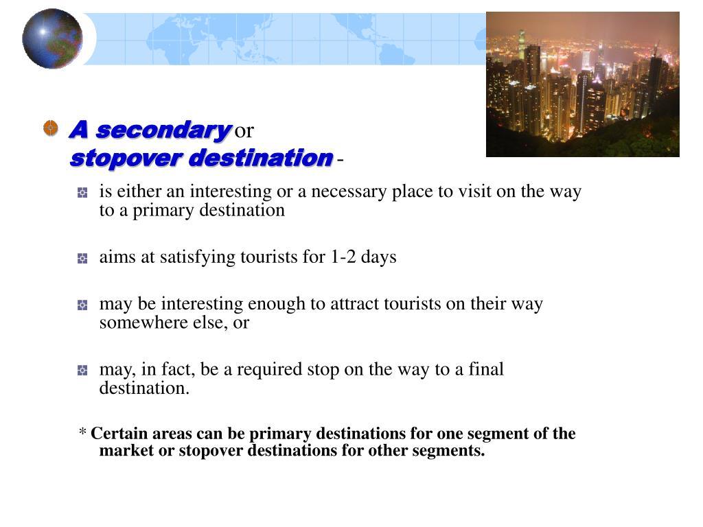 A secondary