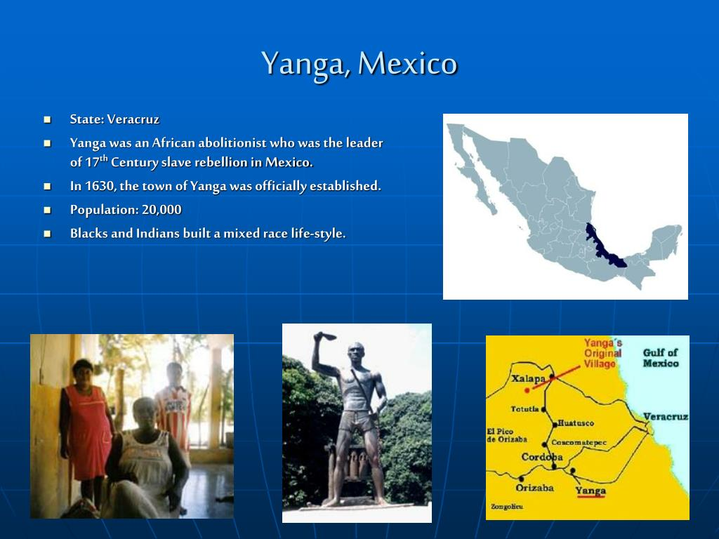Yanga, Mexico