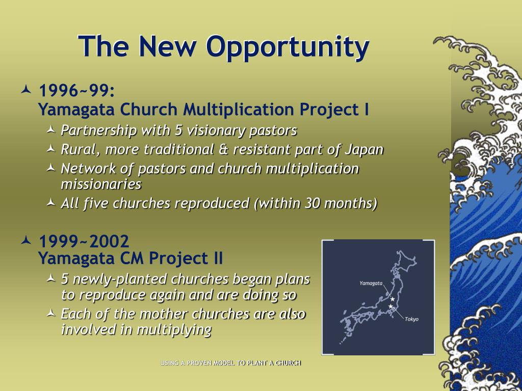 The New Opportunity