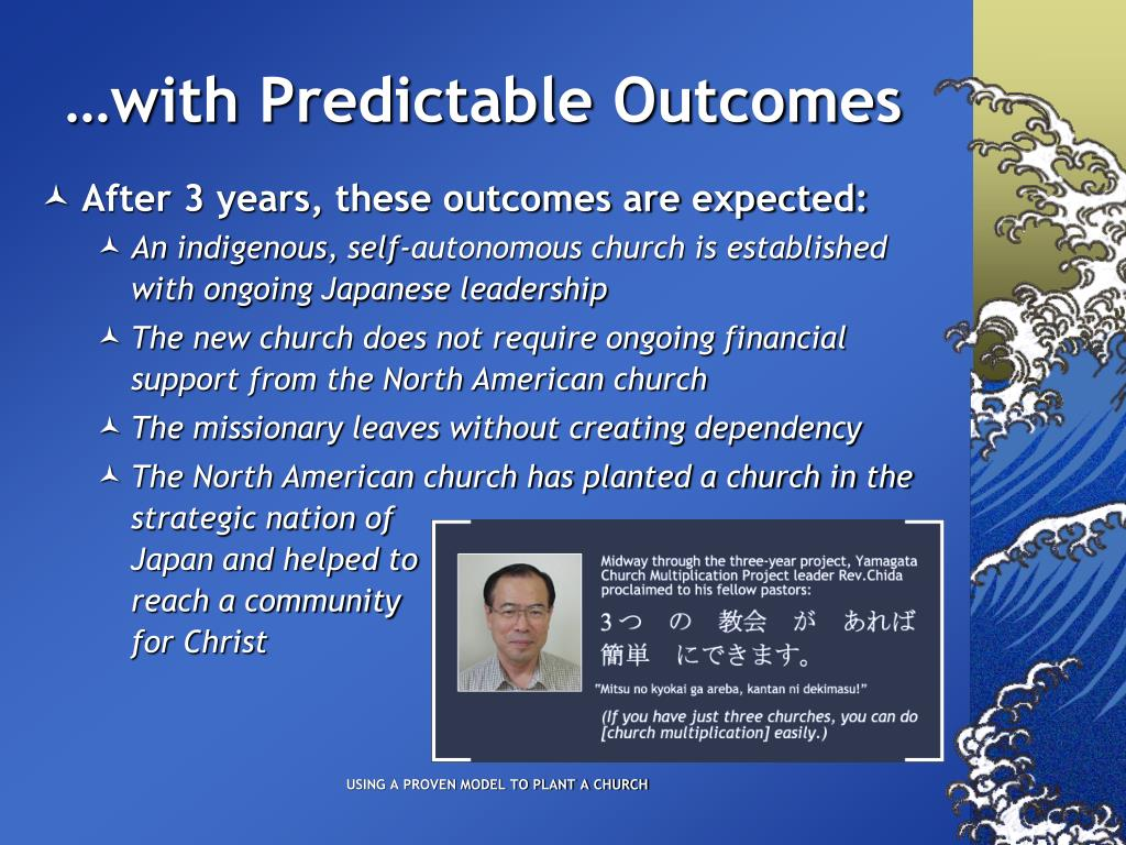 …with Predictable Outcomes